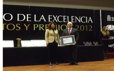 """Uvesa recognized with the """"commitment to excellence"""" by the Government of Navarra"""