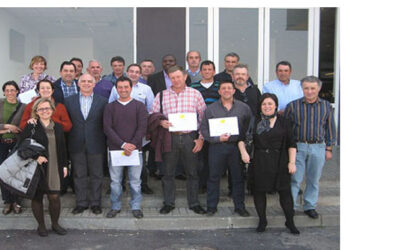 First training day with breeders of birds in Uvesa Tudela