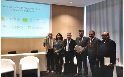 UVESA a participé à un colloque professionnel en Alimentaria 2014