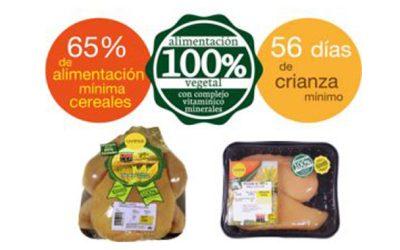Production de poulet jaune certifié Uvesa (Prado Vega)