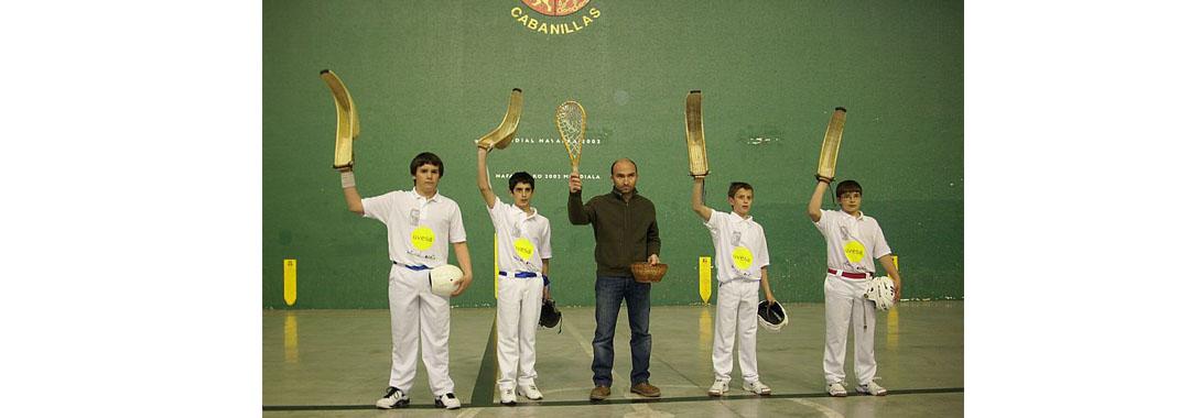 Uvesa patrocina el club de Cesta Punta Jai-Alai de Cabanillas (Navarra)