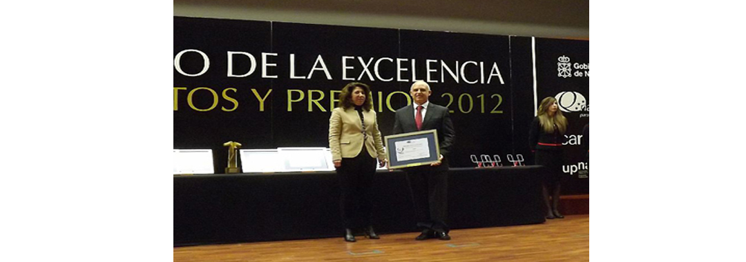 "Uvesa recognized with the ""Commitment to excellence"" by the Government of Navarre"