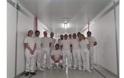 UVESA realiza formación internacional en la nueva incubadora de Uvesa (Tudela)