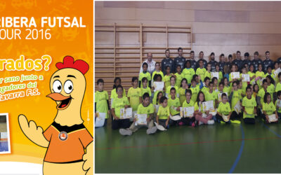UVESA SPONSORS THE FUTSAL RIBERA TOUR THAT WILL VISIT 22 SCHOOLS OF LA RIBERA DE NAVARRA