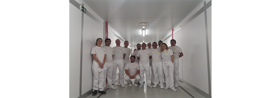 UVESA carries out international training in the new Uvesa incubator (Tudela)