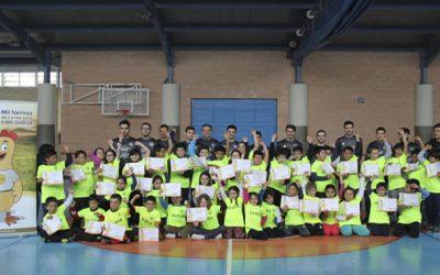 EL TOUR RIBERA FUTSAL, en movimiento gracias a  la visita del Aspil-Vidal a dos colegios en marzo