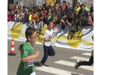 GRUPO UVESA HA PATROCINADO LA CARRERA 'LAS EDADES DEL HOMBRE 2017' en Cuéllar (Segovia)