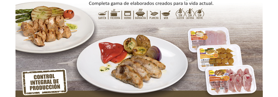UVESA WIDE RANGE OF PROCESSED CHICKEN WITH FIVE NEW PRODUCT