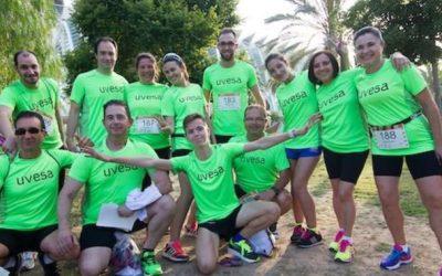 Grupo Uvesa participa en la carrera B2Run gracias a su equipo de Valencia (Catarroja y Alcácer)