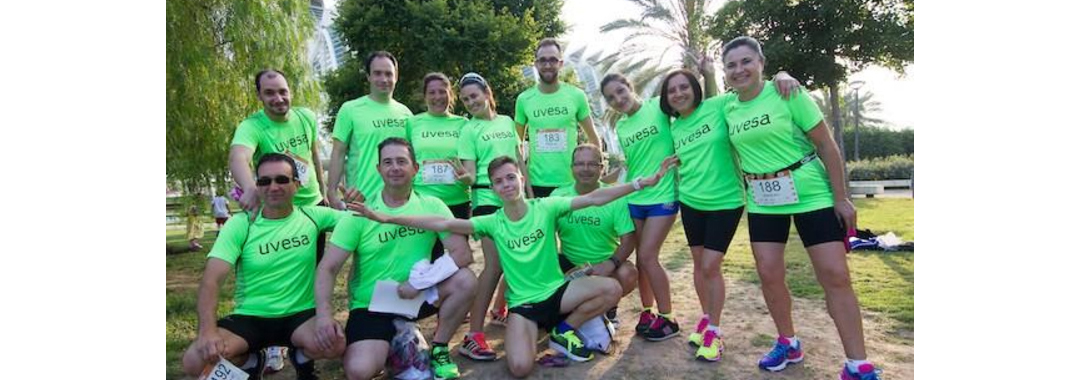 Uvesa Group participates in the B2Run race thanks to its team of Valencia (Catarroja and Alcácer)