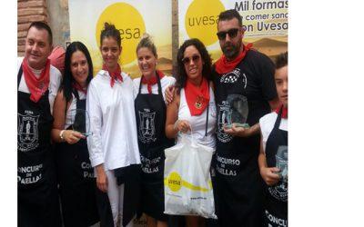 Grupo UVESA apoya el IX CONCURSO DE  PAELLAS DE LA PEÑA CALAGURRITANA en Calahorra (La Rioja)