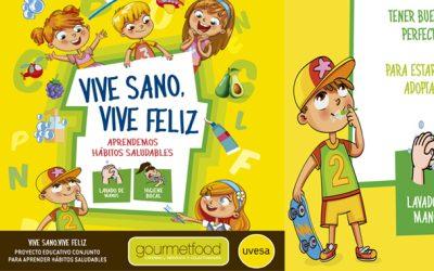Grupo UVESA y Gourmetfood ponen en marcha el Tour  'VIVE SANO, VIVE FELIZ' que llegará a 50 centros de Navarra