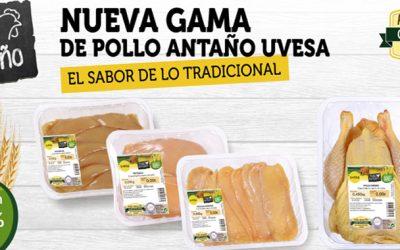 UVESA LANZA SU NUEVA  GAMA POLLO DE ANTAÑO