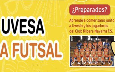 """ARRANCA EL """"II TOUR UVESA RIBERA"""" EN COLEGIOS Y ESCUELAS DE FUTBOL-SALA"""