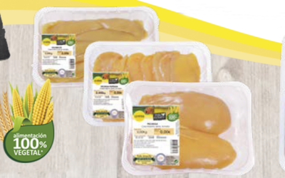 "UVESA LAUNCHES ITS NEW RANGE "" Pollo Antaño"" (Certified chicken 100% vegetal)"