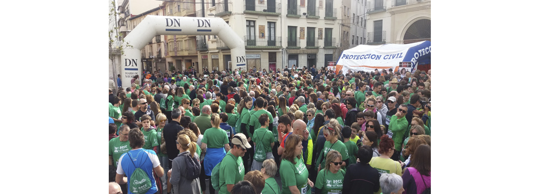 GREAT SUCCESS OF THE FIRST MARCH AGAINST CANCER IN TUDELA UVESA-SPONSORED