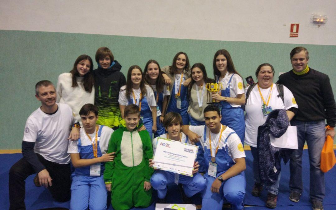 Grupo Uvesa apoya al equipo Grat del colegio La Anunciata Tudela en la First Lego