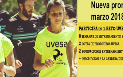 "Uvesa Groupe  launces the challenge ""Get fit"" in a 10 km race in Madrid."