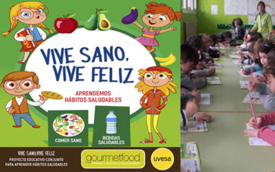 UVESA AND GOURMETFOOD CONTINUE WITH THE TOUR 'LIVE HEALTHY, LIVE HAPPY'