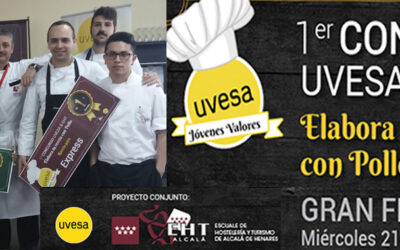 """12 WINNERS IN THE 1ST COMPETITION """"CREATE YOUR RECIPE OF CHICKEN"""" IN ALCALÁ SCHOOL"""