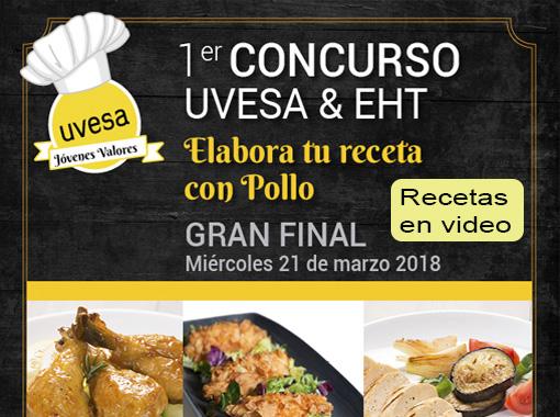 """Las mejores recetas en video y la Gran final del concurso """"Elabora tu receta de pollo"""" ya están disponibles en video."""