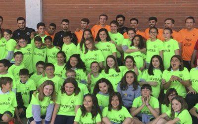Recta final del II Tour Uvesa Ribera por colegios y escuelas de futbol de Navarra, La Rioja y Aragón
