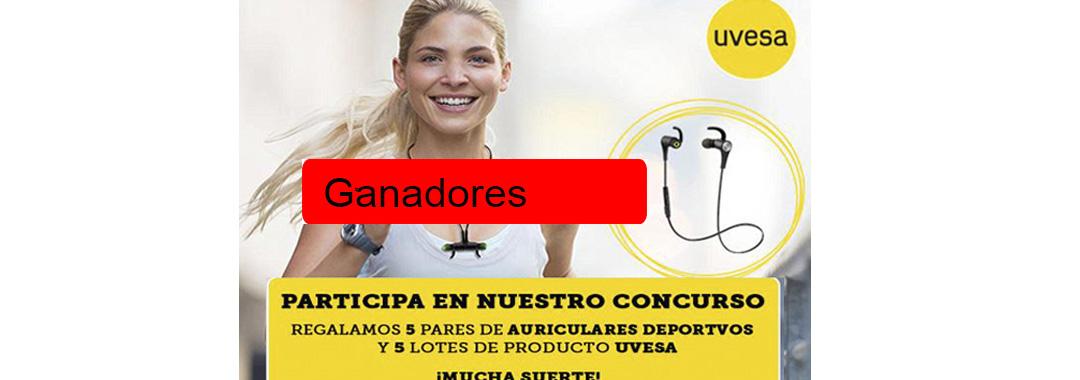 Ganadores de la nueva promoción Vida Sana con UVESA