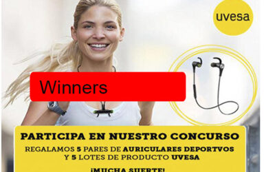 Winners of the new promotion  Healthy Living with UVESA