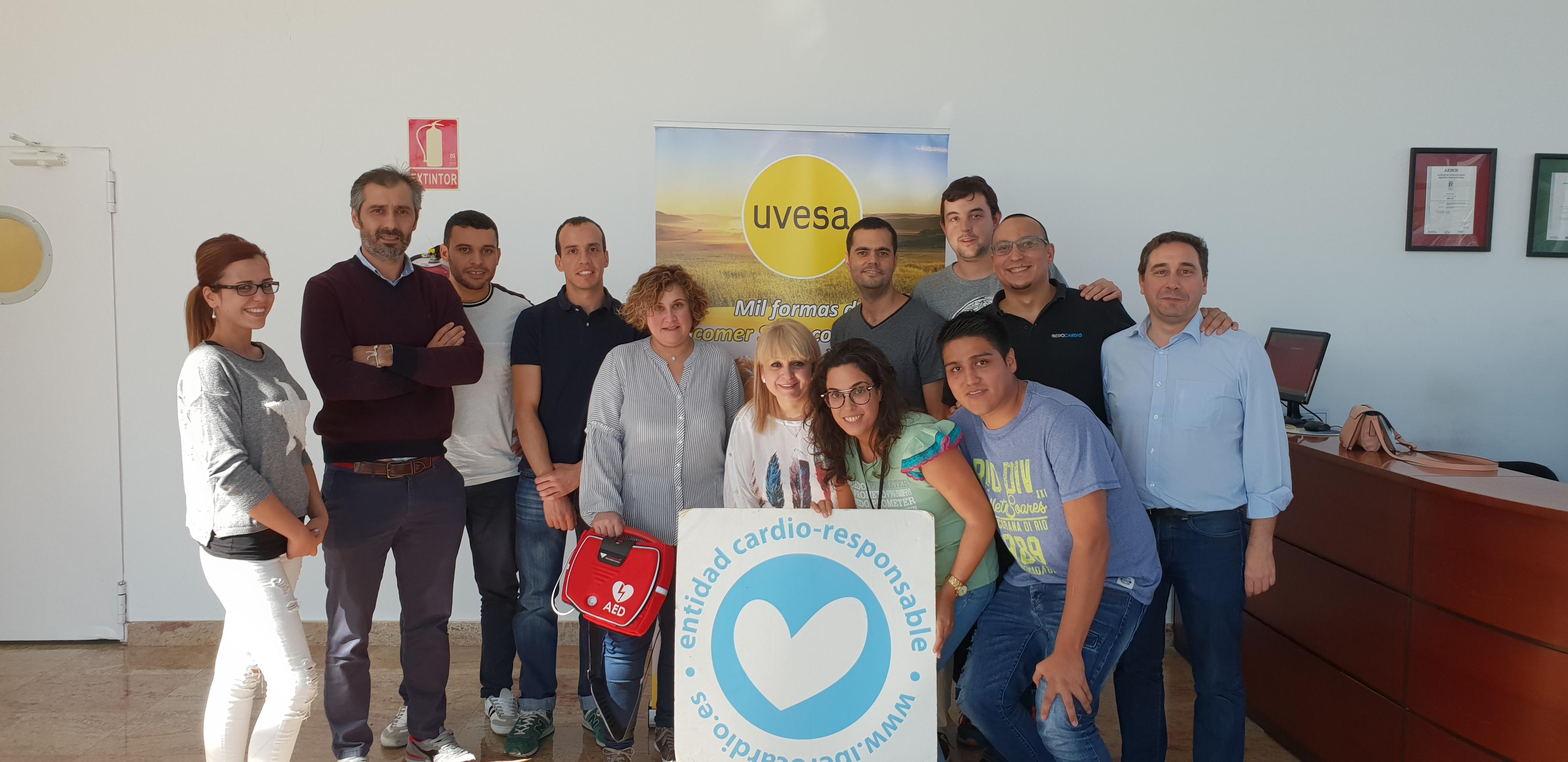 Uvesa se convierte en entidad Cardio-Responsable emitido por IBEROCARDIO