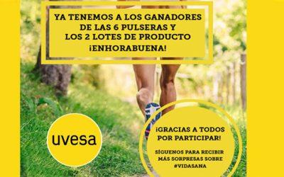 Gagnants de la nouvelle promotion d'Uvesa sur Facebook: Une vie saine avec Uvesa à l'automne