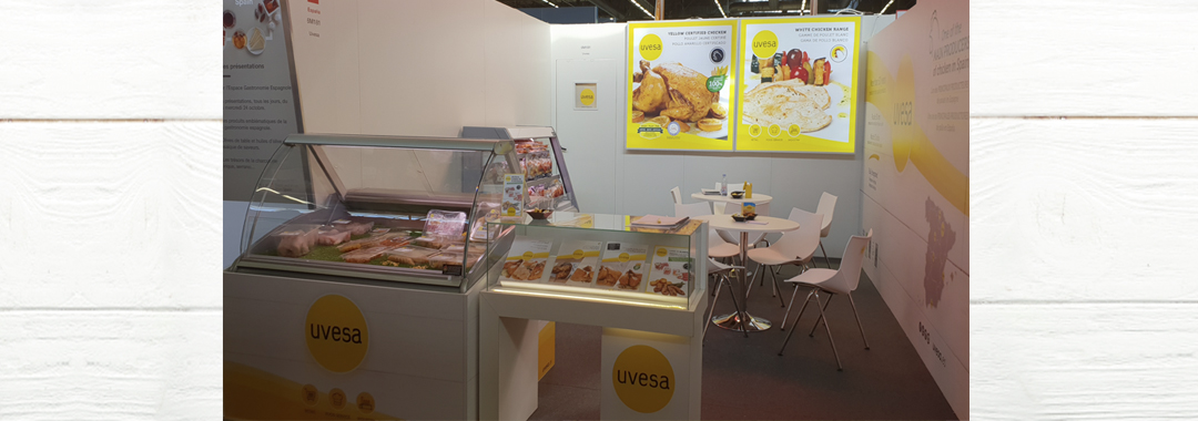Uvesa makes a very positive assessment of its presence at the Sial Paris 2018 fair