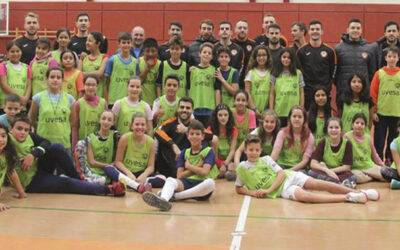 III Uvesa Tour has begun with the visit to the schools El Castellar in Villafranca (Navarra)