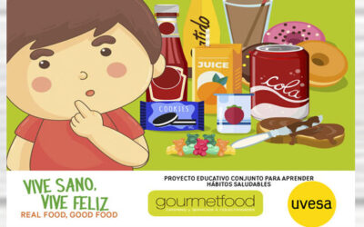 Uvesa and Gourmefood, allies again for a healthy diet to reach 50 schools in Navarra