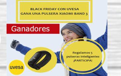 Gagnants du concours: Black Friday avec Uvesa