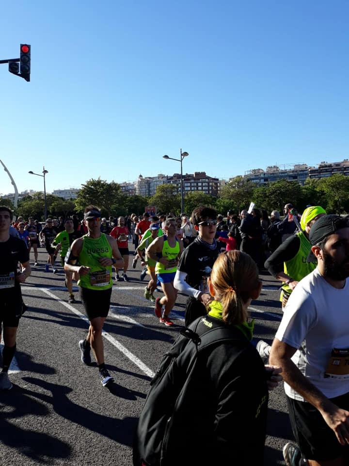 Maratón Valencia equipo Uvesa