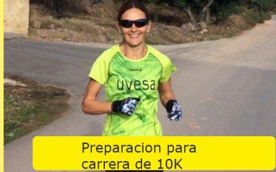 Preparación carrera de 10k