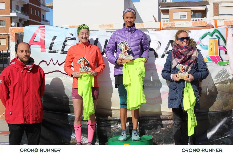 ganadoras VII Carrera aledua trail 2019-