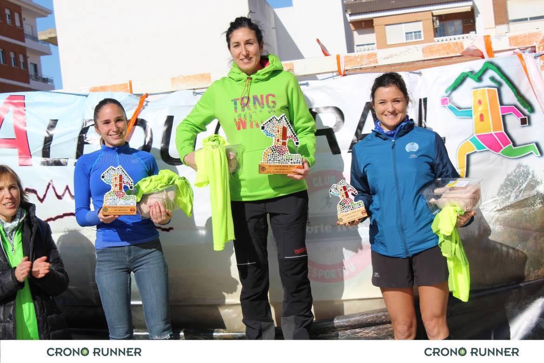 ganadoras VII Carrera aledua trail 2019