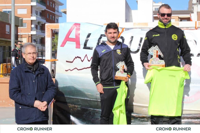 ganadores VII Carrera aledua trail 2019-