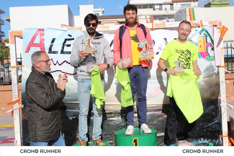 ganadores VII Carrera aledua trail 2019