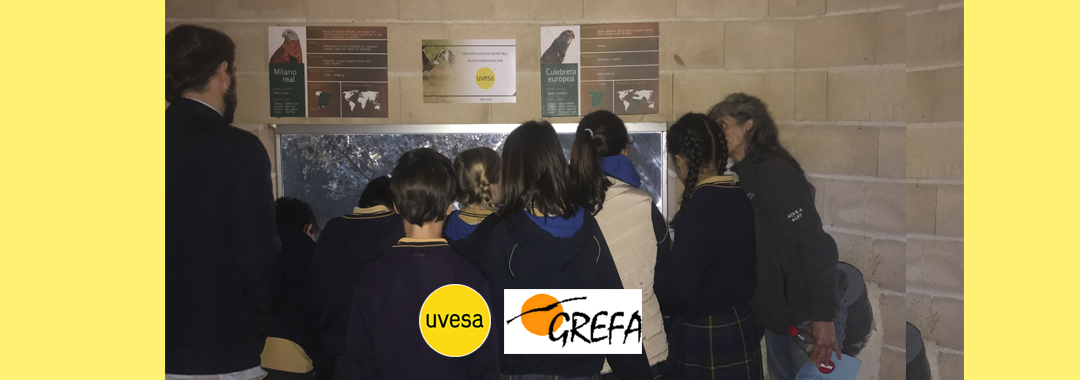 Group Uvesa collaborates with Grefa (Group of rehabilitation of the native fauna and its habitat) in an educational project that will try to reach 12,000 visitors