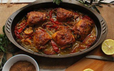Pollo Libanés a las siete especias