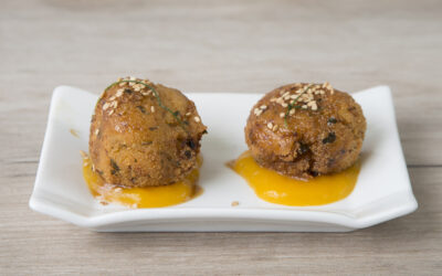 Receta: Pollo al mango