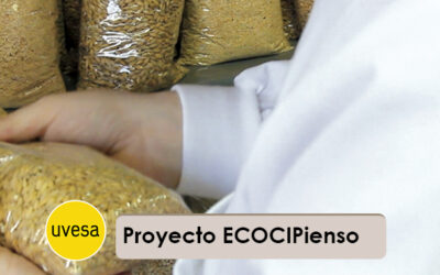 """Grupo Uvesa develops the project """"ECOCIPienso, Circular economy"""" in the manufacture of feed for animal feed"""