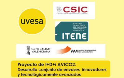 Grupo Uvesa participa en el desarrollo de envases tecnológicamente avanzados junto con Itene e Iata