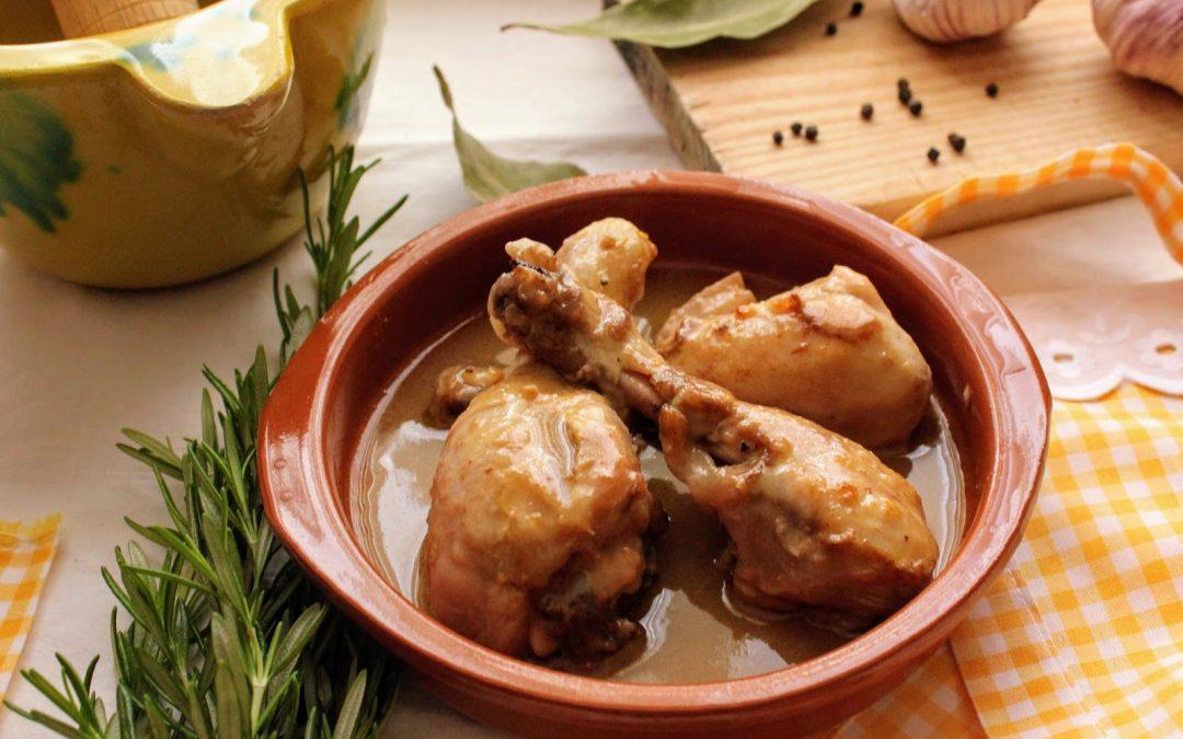 Pollo a la cortijera