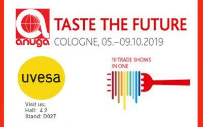 UVESA participates as an exhibitor at Anuga 2019 (Germany) in October