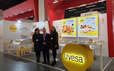 UVESA participa como expositor en la feria Anuga 2019 (Alemania) en octubre