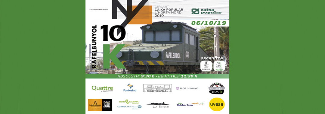 Uvesa Group supports the III March 10km in Rafelbuñol
