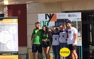 Grupo Uvesa patrocina la carrera III 10k Rafelbunyol Gripo
